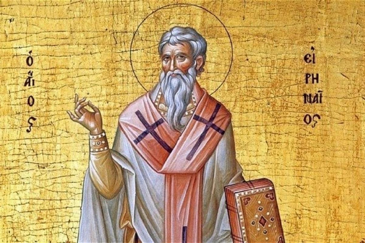 San Ireneo fue obispo de la ciudad de Lyon. Su fiesta litúrgica es el 28 de junio.