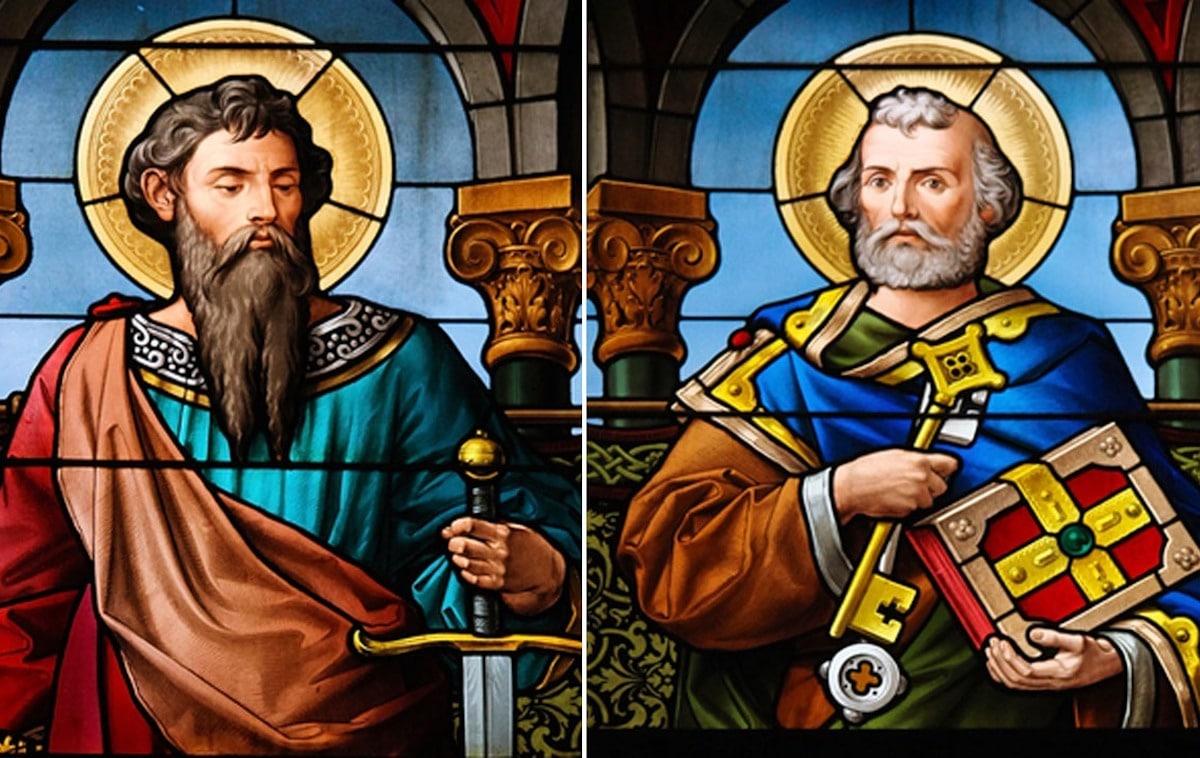 Solemnidad de San Pedro y San Pablo.