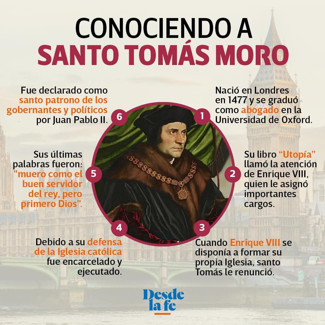 Santo Tomás Moro.