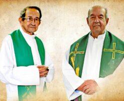 Al P. Sergio y al P. Jairo (hermanos Román)