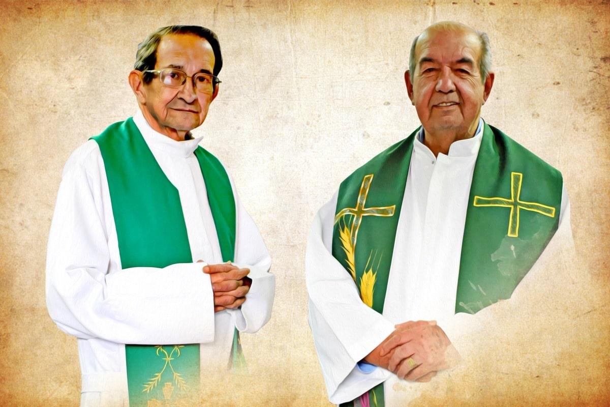 P. Sergio Román y P. Jairo Román