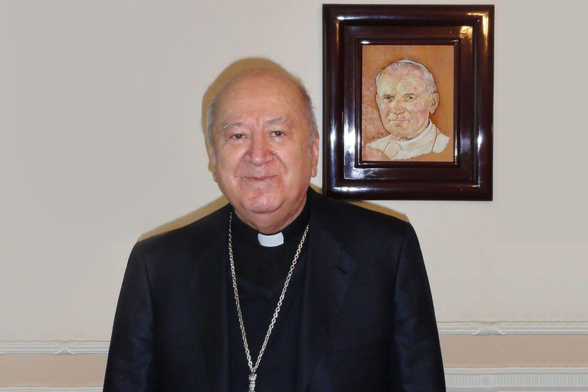 Monseñor Abelardo Alvarado Alcántara fue nombrado Obispo Auxiliar en 1985.