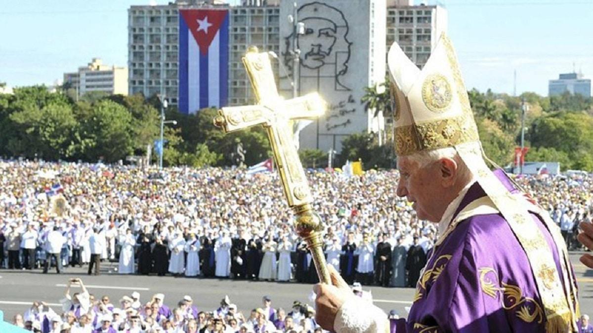 El Papa Benedicto XVI visitó Cuba del 26 al 28 de marzo de 2012.