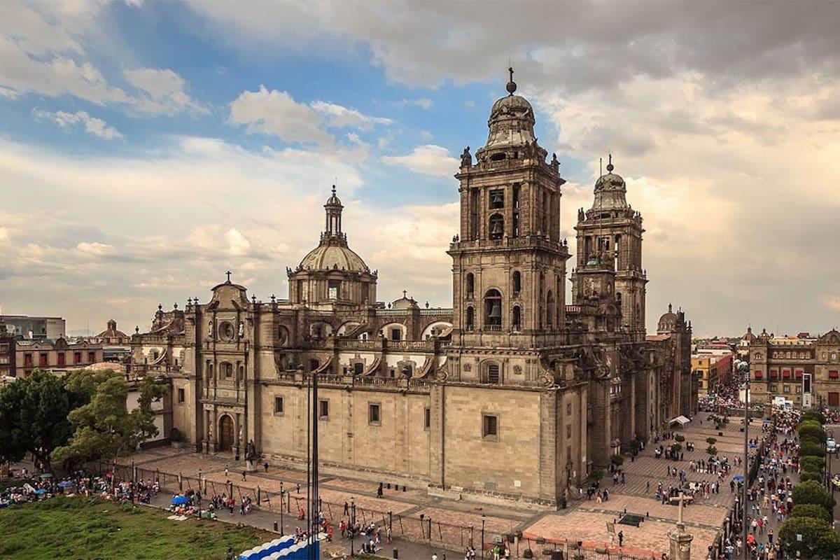 Catedral Metropolitana de México. Foto: Alcaldía Cuauhtémoc