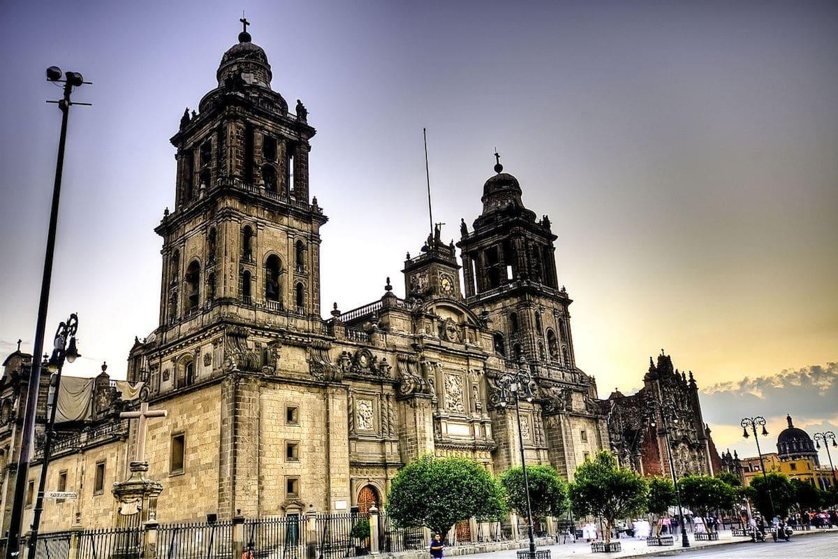 Catedral Metropolitana de México.