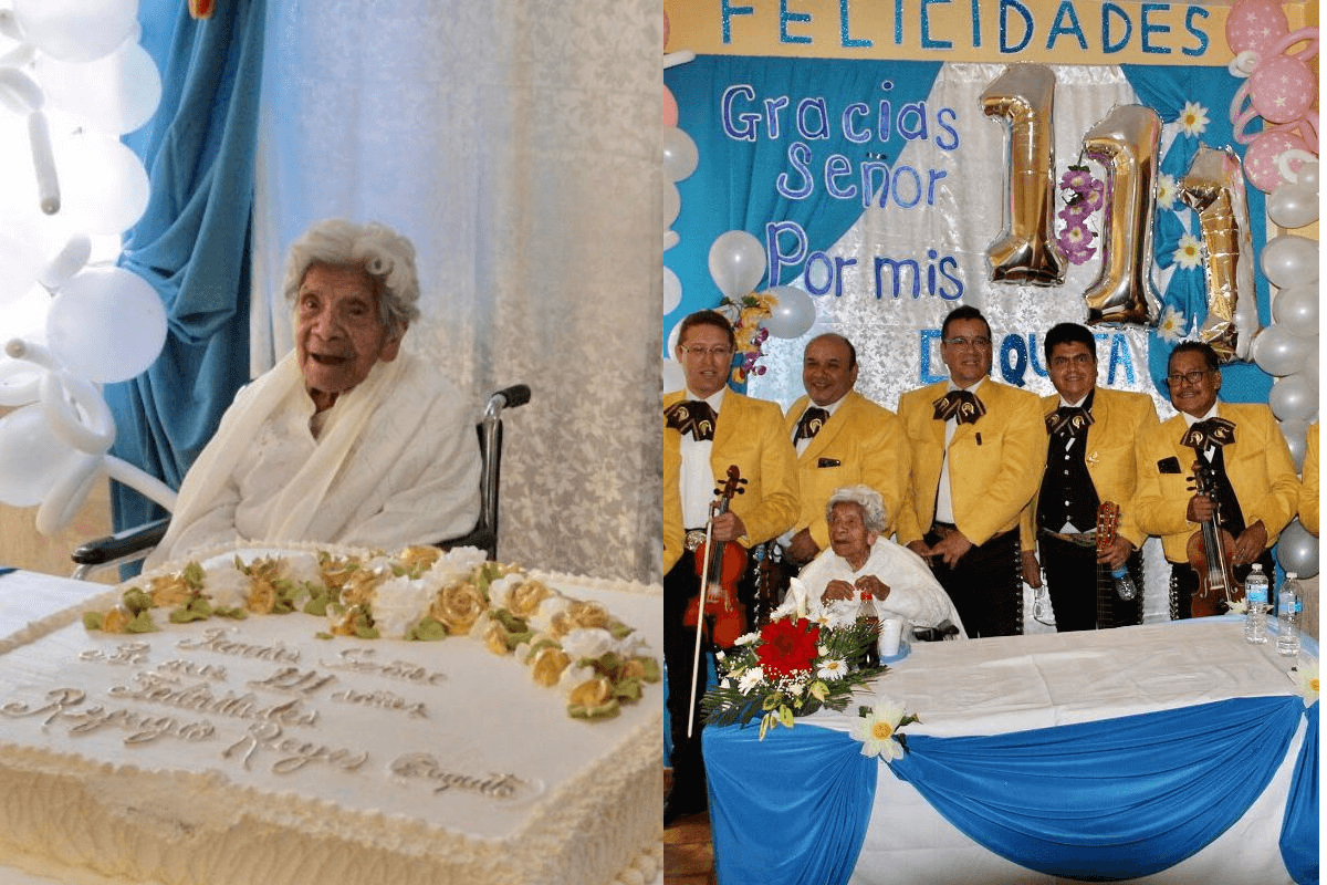 """'Cuquita' de la Casa Hogar para Ancianos Desamparados """"Isabel la Católica"""". Foto: Alejandro García"""