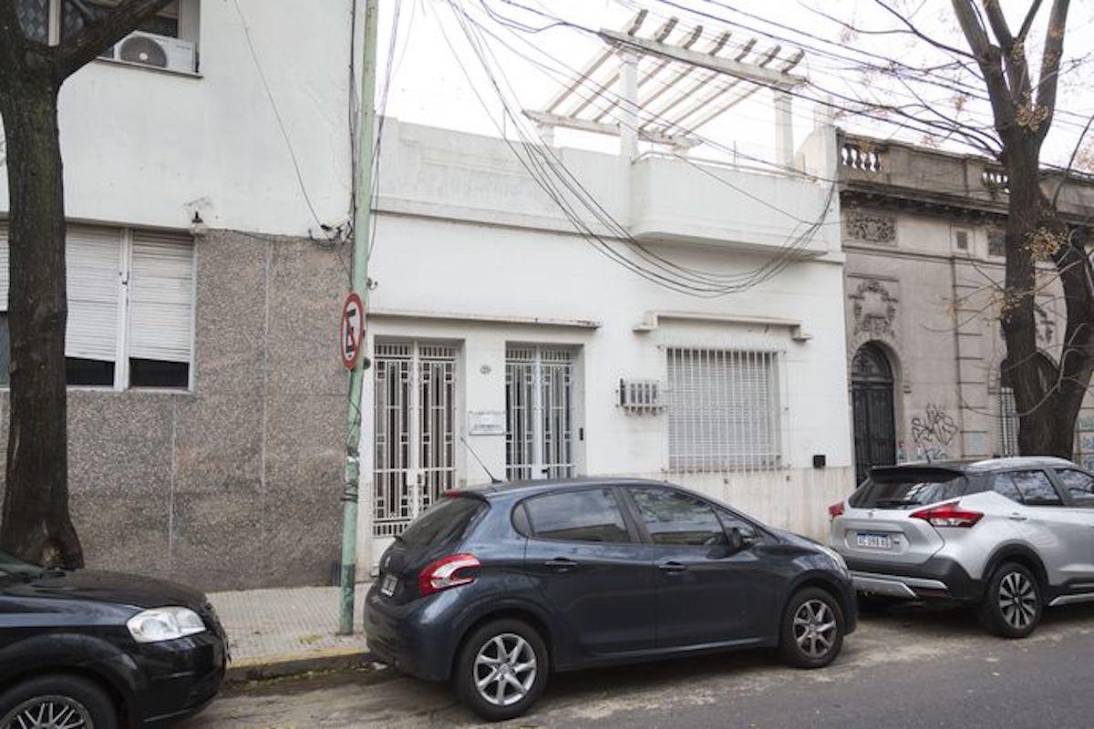 Fachada de la casa donde nació el Papa Francisco. Foto: La Nación