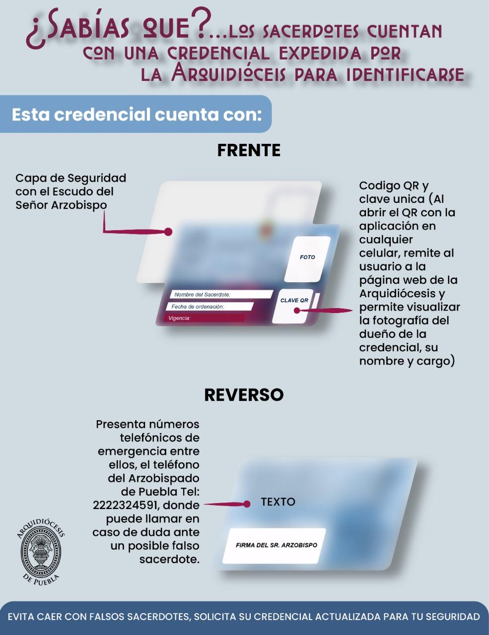 Fuente: Arquidiócesis de Puebla.