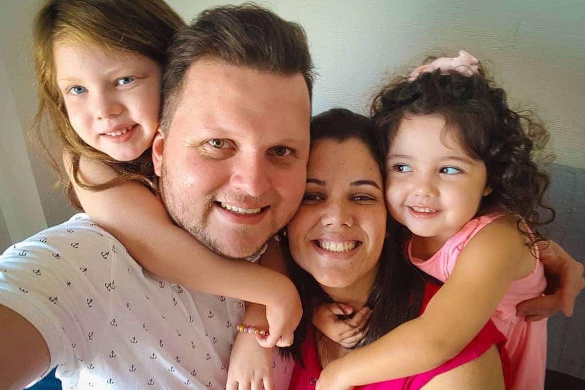 Gerson y su familia radican desde hace 5 años en España. Foto: Gerson Pérez/Facebook