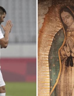 Gignac no celebró su gol, por respeto a México y a la Virgen de Guadalupe