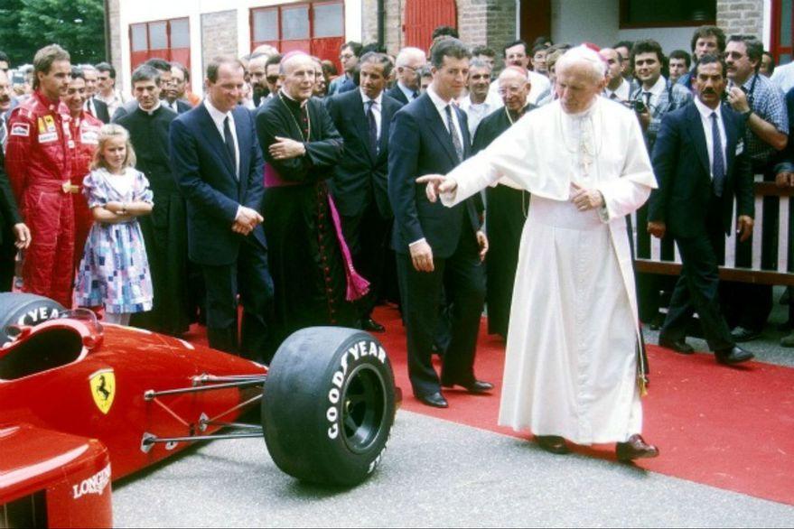 Juan Pablo II en una fotografía de 1988.
