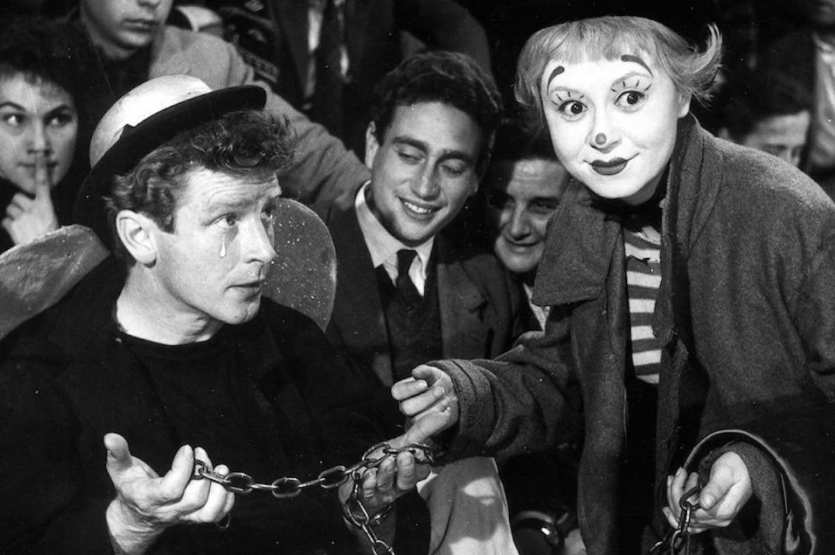 La calle (La Strada) del director Federico Fellini es una de las películas favoritas del Papa Francisco. Foto: Mubi.