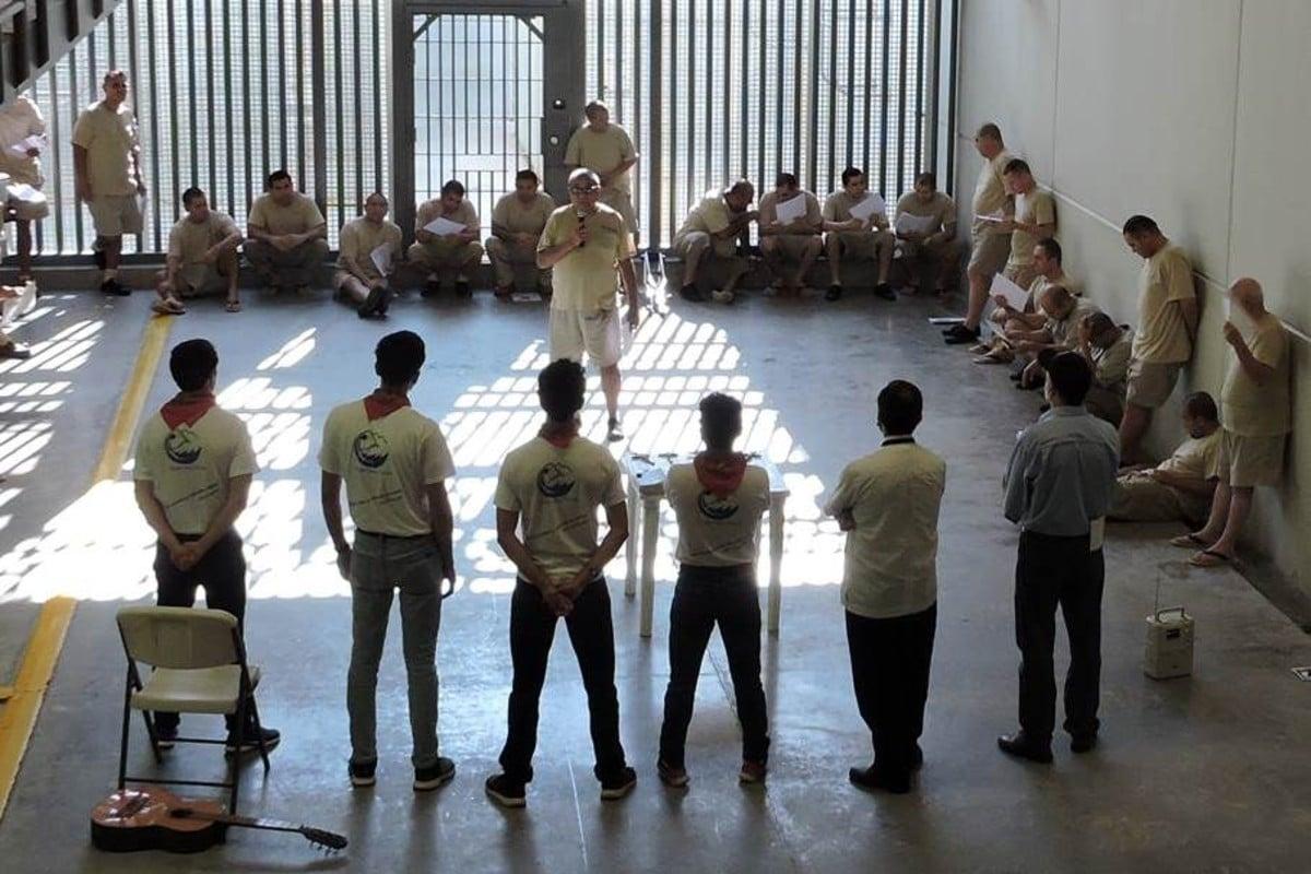 Regnum Christi reanudó sus misiones en las prisiones federales de México- Foto: Cortesía.