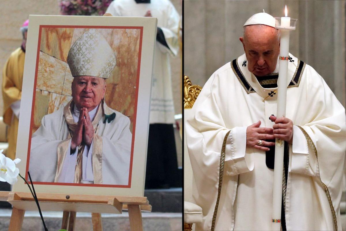 El Papa Francisco envía su pésame por la muerte de Mons. Abelardo Alvarado Alcántara / Composición: DLF