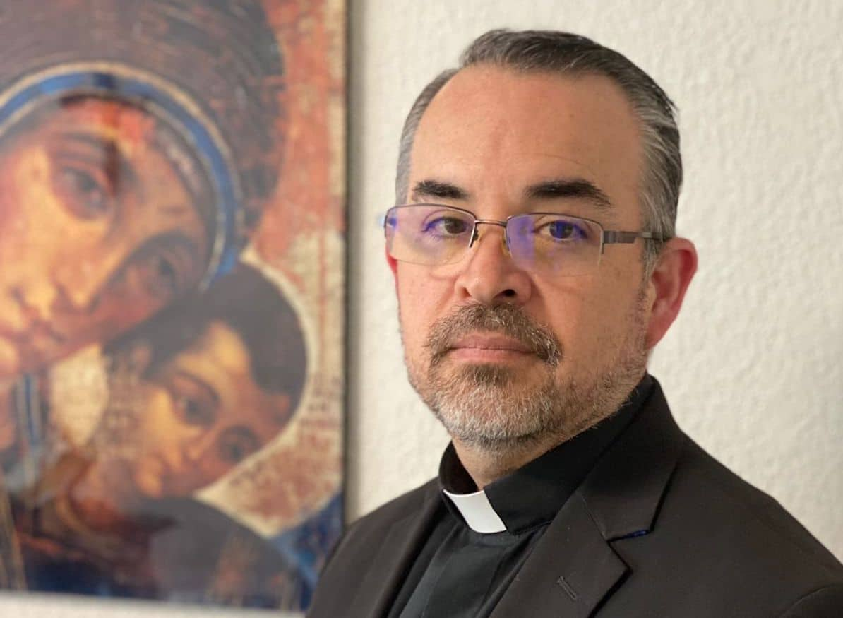 El Pbro. Andrés Luis García Jasso fue nombrado Obispo Auxiliar de la Arquidiócesis Primada de México.