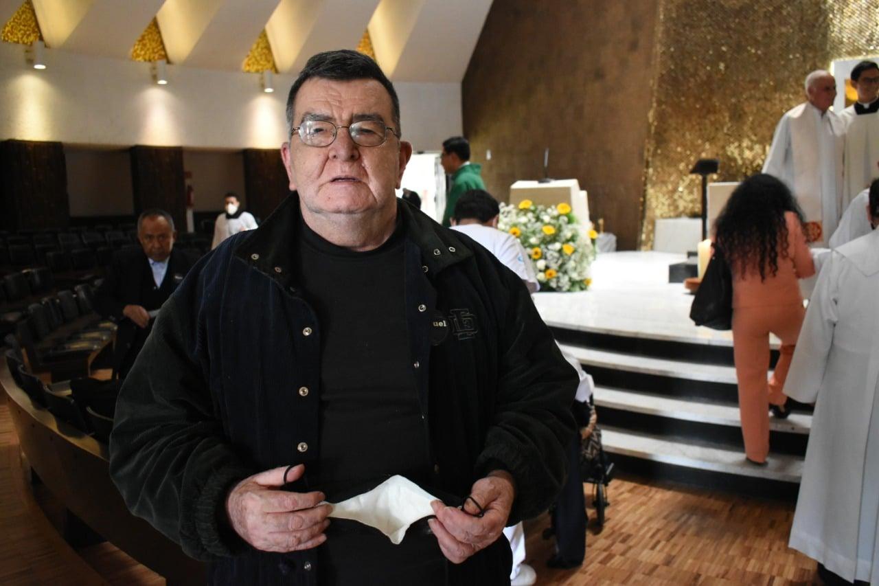 El padre Manuel mantiene un espíritu joven. Durante 42 años su corazón estuvo en Chiapas; su voluntad, en la Arquidiócesis de México.