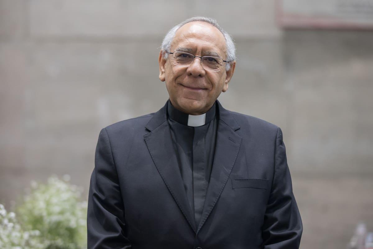 P. Mario Ángel Flores, rector de la Universidad Pontificia de México. Foto: María Langarica