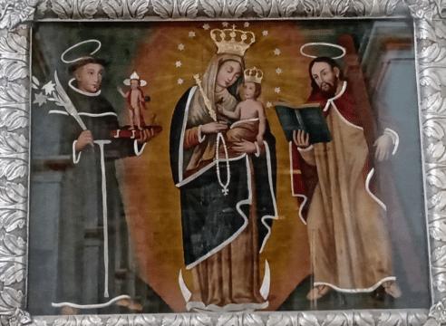 La pintura de la Virgen de Chiquinquirá que rejuveneció por un milagro