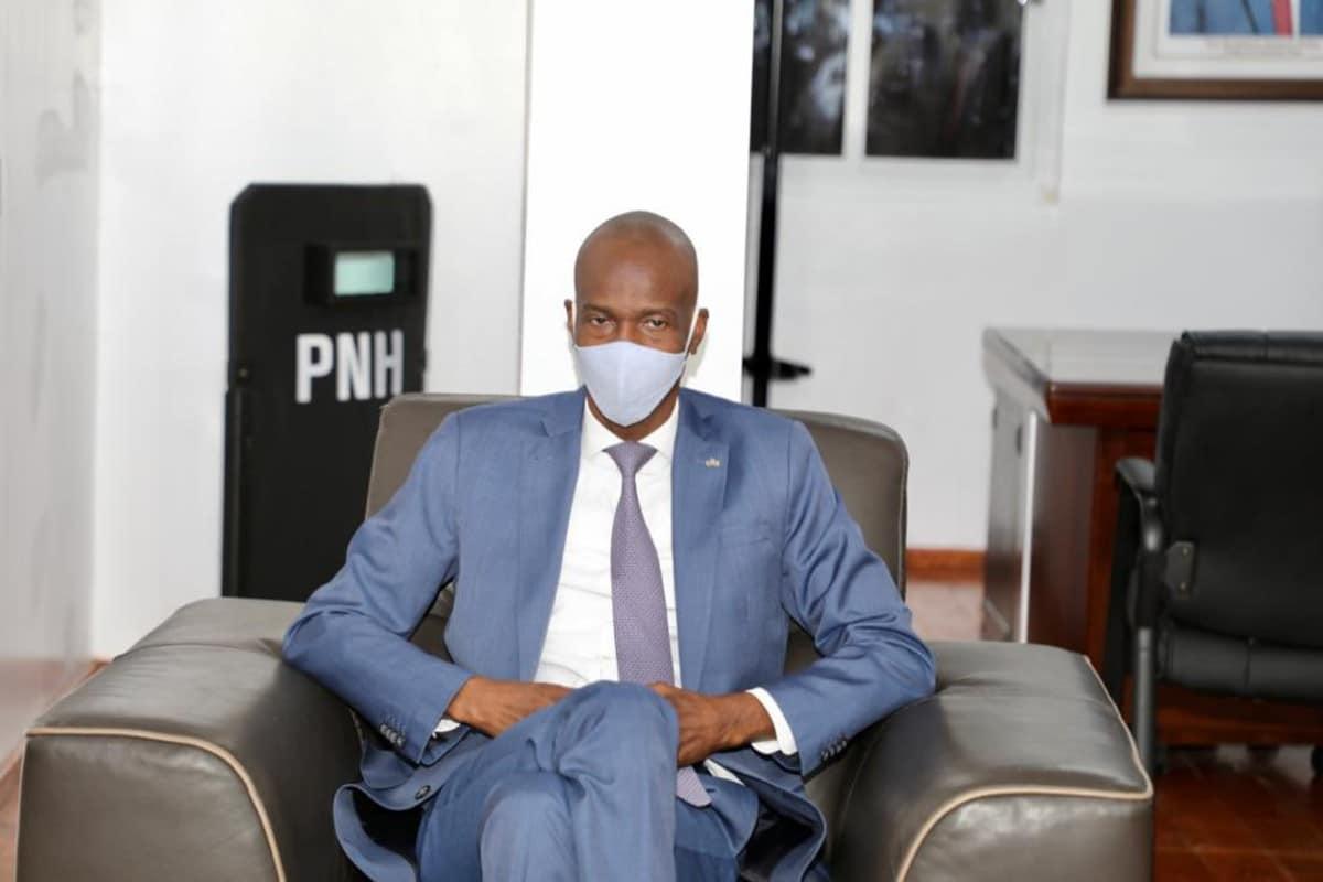 El presidente de Haití, Jovenel Moïse, asesinado la madrugada del 6 de julio. Foto: Twitter @moisejovenel