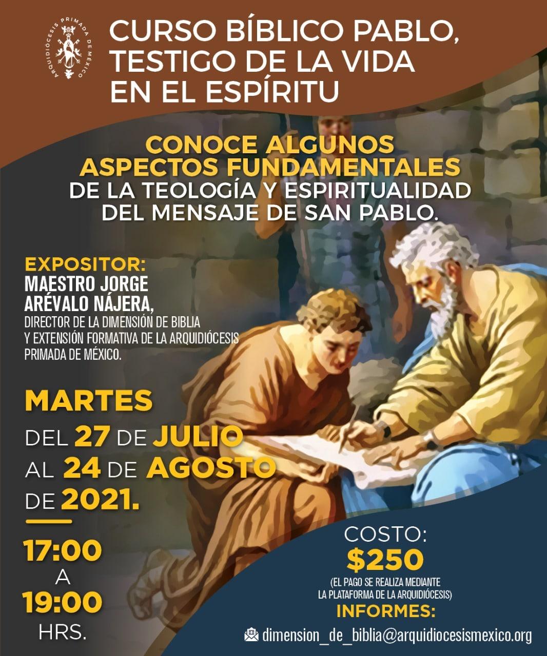 Curso sobre San Pablo
