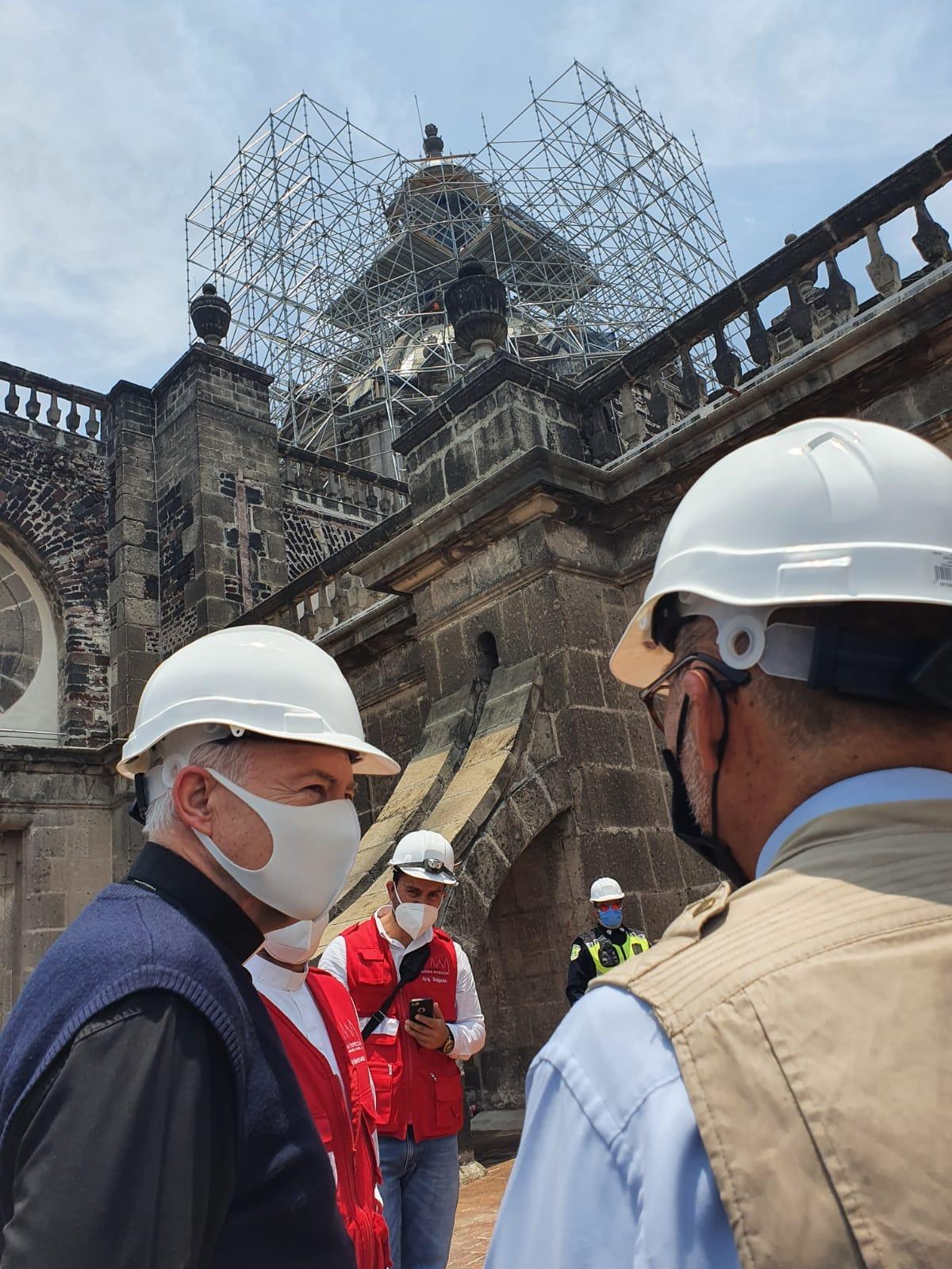 La Catedral Metropolitana necesitaba una intervención urgente debido al desgaste de sus instalaciones, la cual sirve para prevenir desastres. Foto: Ricardo Sánchez/ Desde la fe.