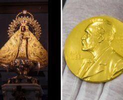 ¿Sabías que la Virgen de la Caridad del Cobre en Cuba tiene un Nobel?