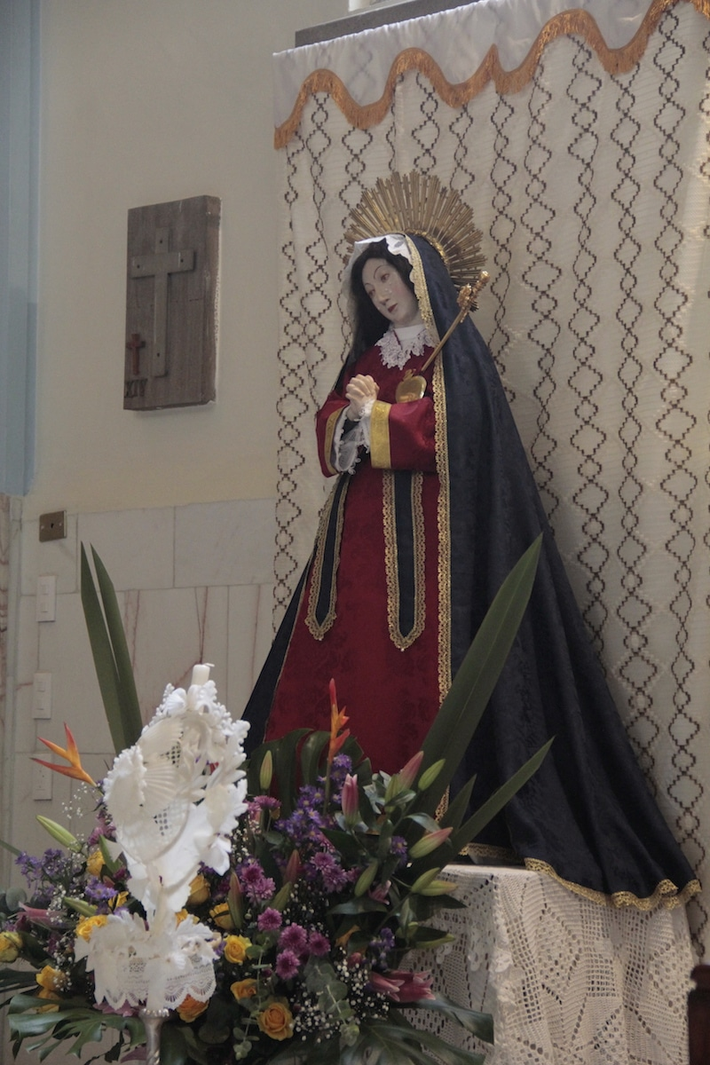 Nuestra Señora de las Aguas salvó a la Ciudad de México de fuertes inundaciones. Foto: Alex García