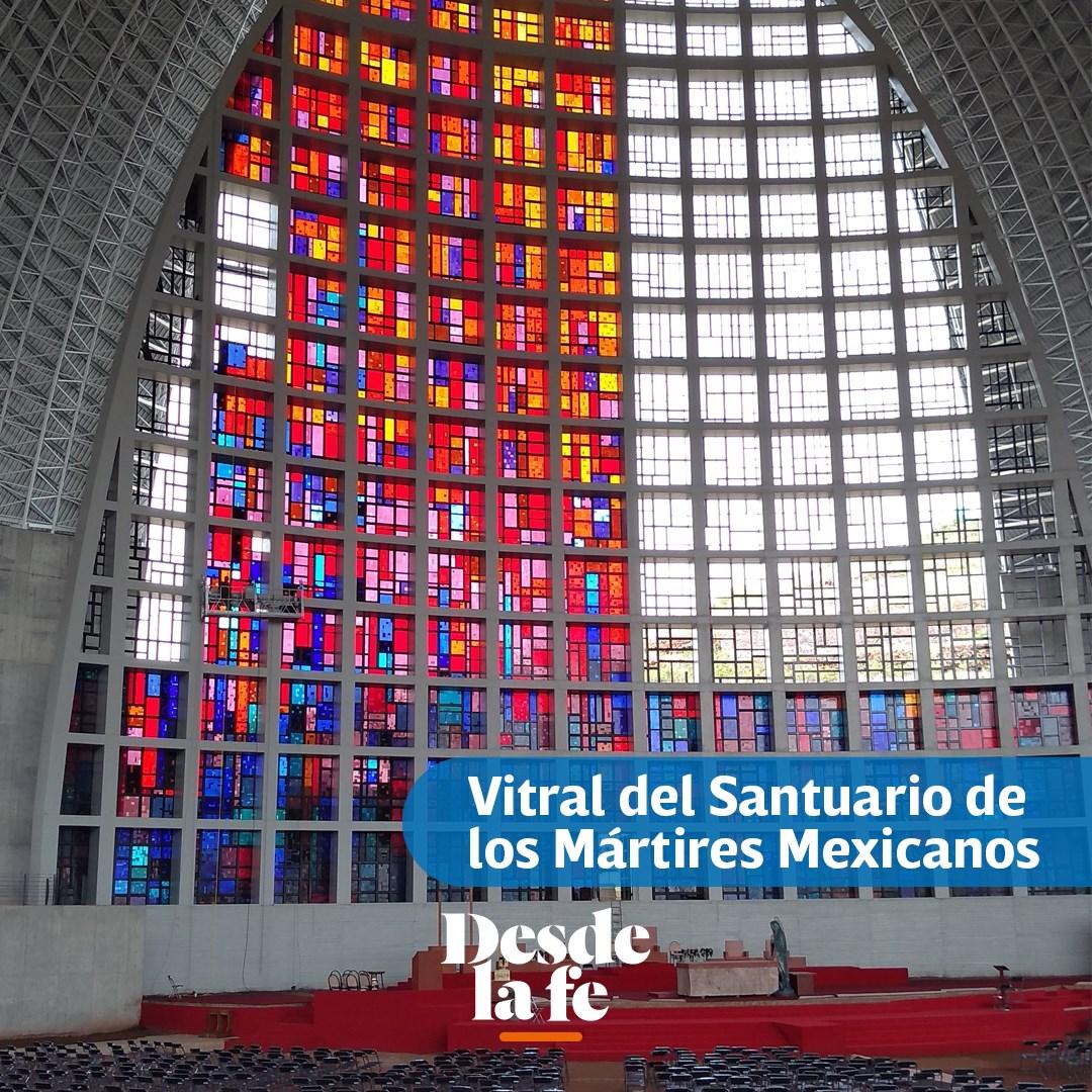 Actualmente, Fray Gabriel trabaja en el montaje de los vitrales del Santuario de los Mártires Mexicanos, ubicado en Guadalajara.