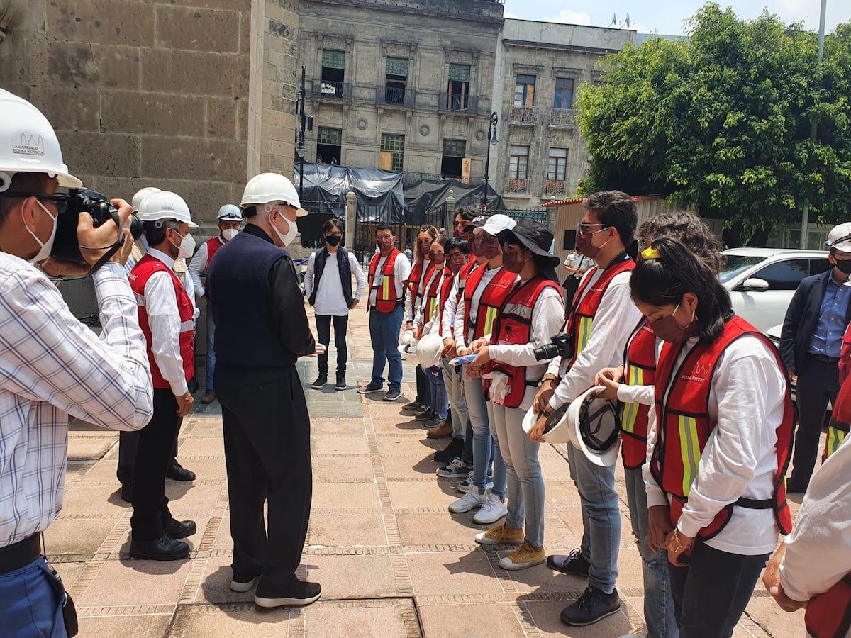 """Los jóvenes pertenecen a la asociación """"Catedral Buena Noticia"""""""