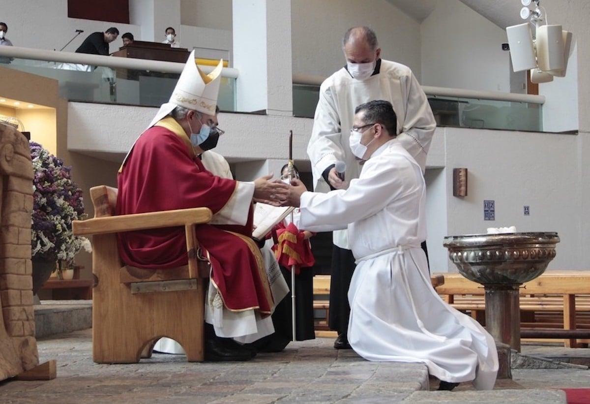 Su camino hacia el Diaconado Permanente estuvo marcado por Dios.