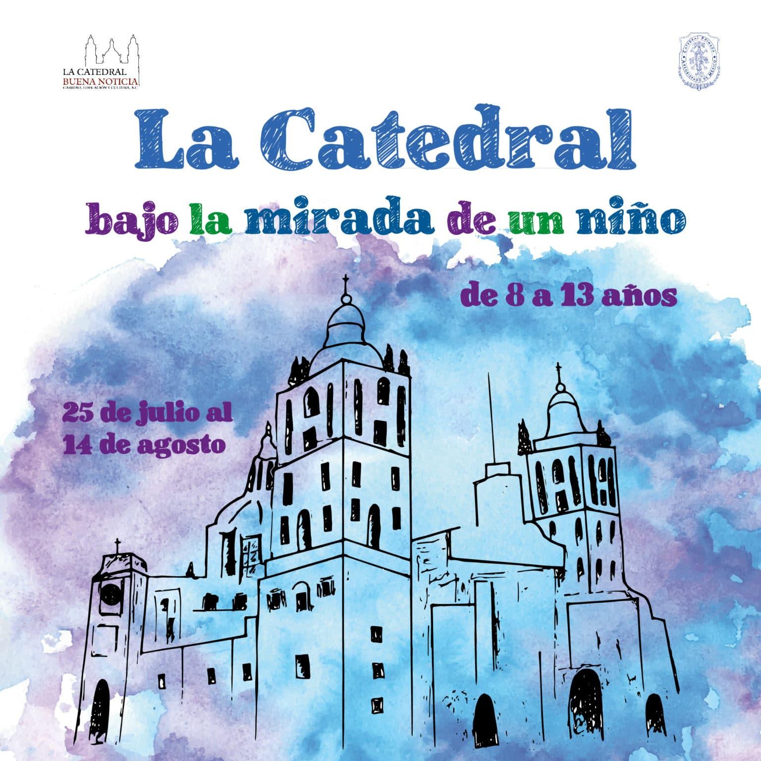 Participa en el concurso de dibujo de la Catedral e México.