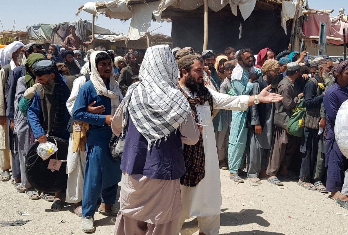 Crisis humanitaria en Afganistán. Foto: Vatican Media