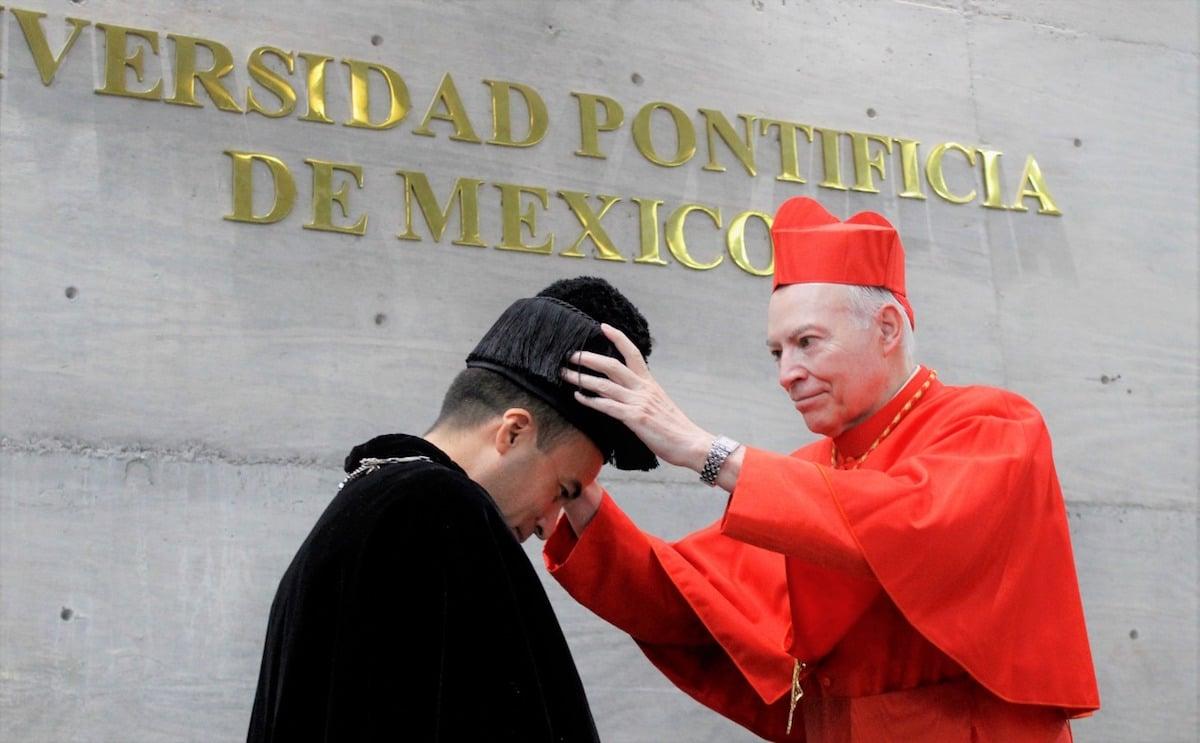 El Cardenal Carlos Aguiar designó al P. Alberto Anguiano García como nuevo rector de la Universidad Pontificia de México.