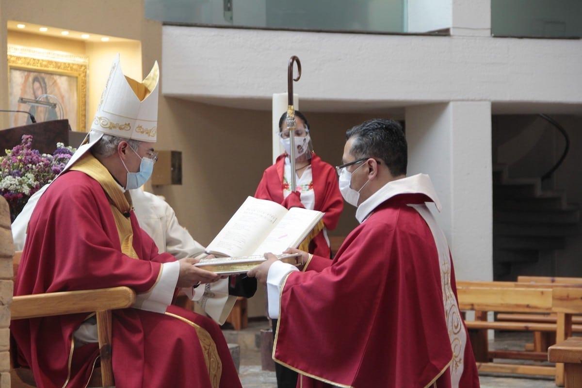 José Alfredo Sotelo fue ordenado diácono este 11 de agosto.
