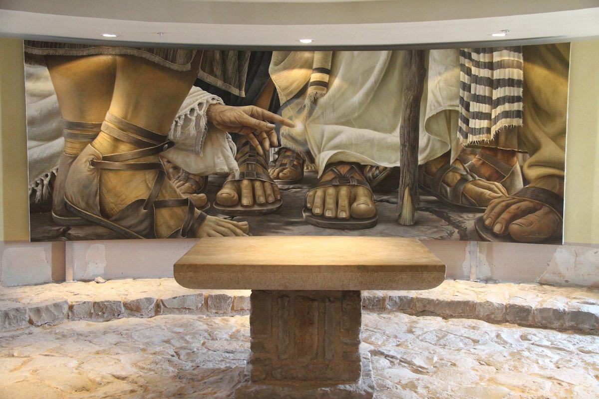 Capilla del Encuentro en la Iglesia Duc In Altum en Magdala