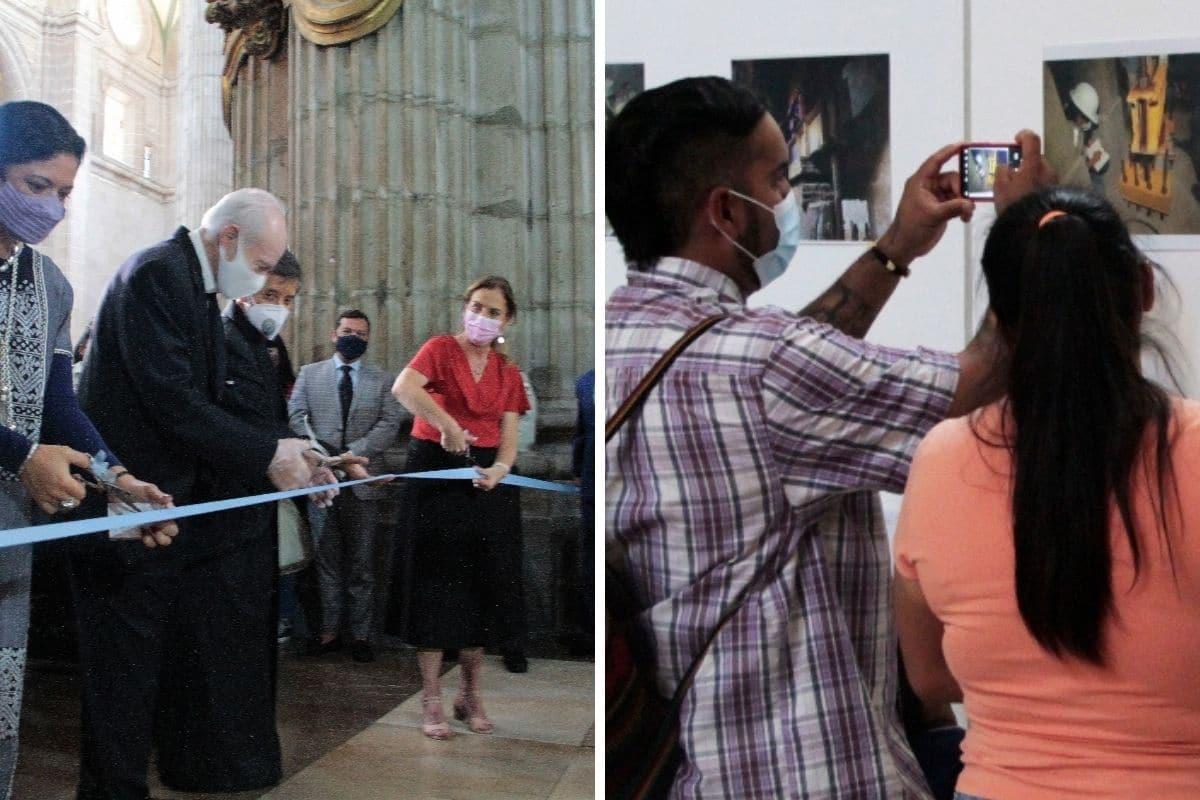 La exposición sobre la restauración podrá verse hasta el 22 de agosto. Fotos: Alejandro García/ Desde la fe.