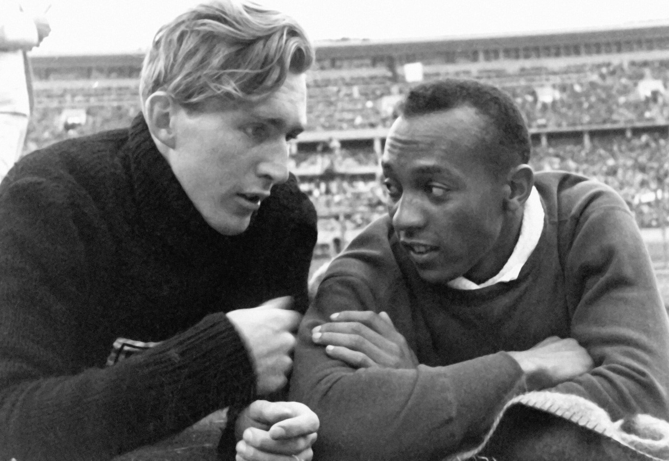 La amistad de los atletas Jessi Owens y Luz Long trascendió a la Alemania nazi. Foto: Elnacional.cat