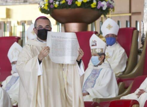 La Arquidiócesis de México da la bienvenida a su nuevo obispo auxiliar