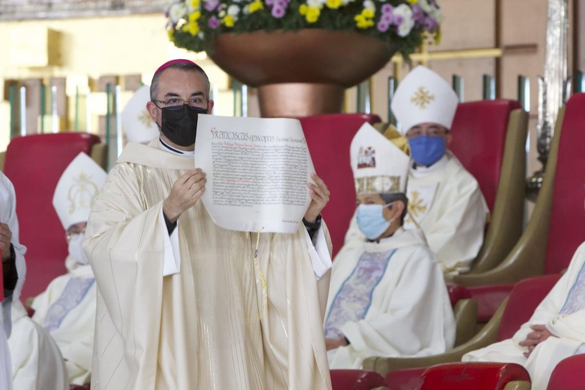 Monseñor Andrés Luis García Jasso, nuevo Obispo Auxiliar de la Arquidiócesis de México. Foto: Basílica de Guadalupe
