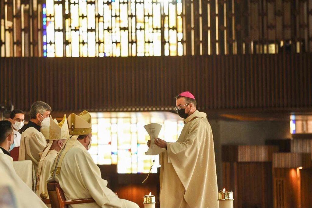 Ordenación episcopal de Monseñor Andrés García Jasso. Foto: Jonathan Oregon