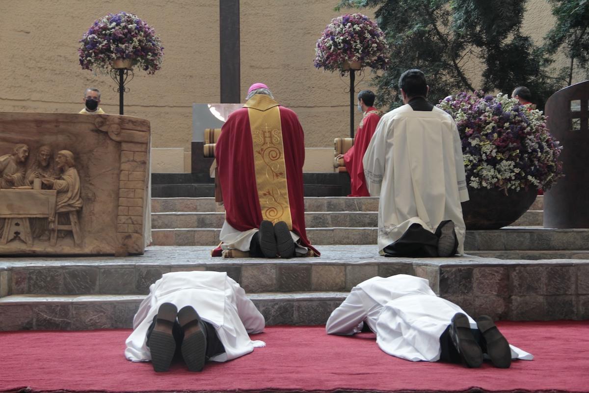 Ser diácono es ser configurado a Cristo Servidor.
