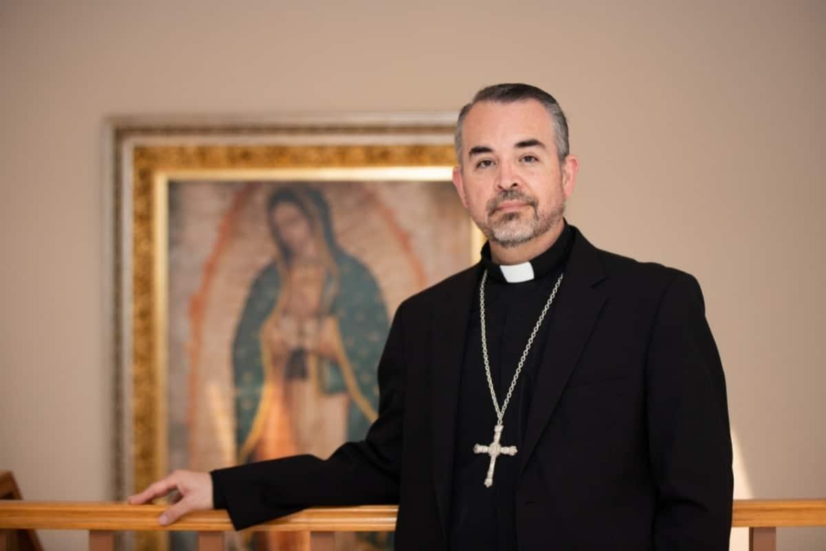 El nuevo Obispo Auxiliar de la APM recibió la noticia de su nombramiento con una gran paz.