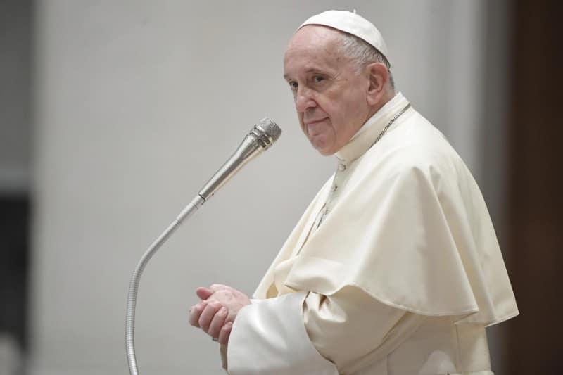 El Papa Francisco en la Audiencia General del 18 de agosto de 2021. Foto: Vatican Media.