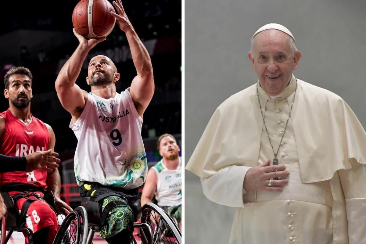 El Papa Francisco celebró la realización de los Juegos Paralímpicos de Tokio 2020