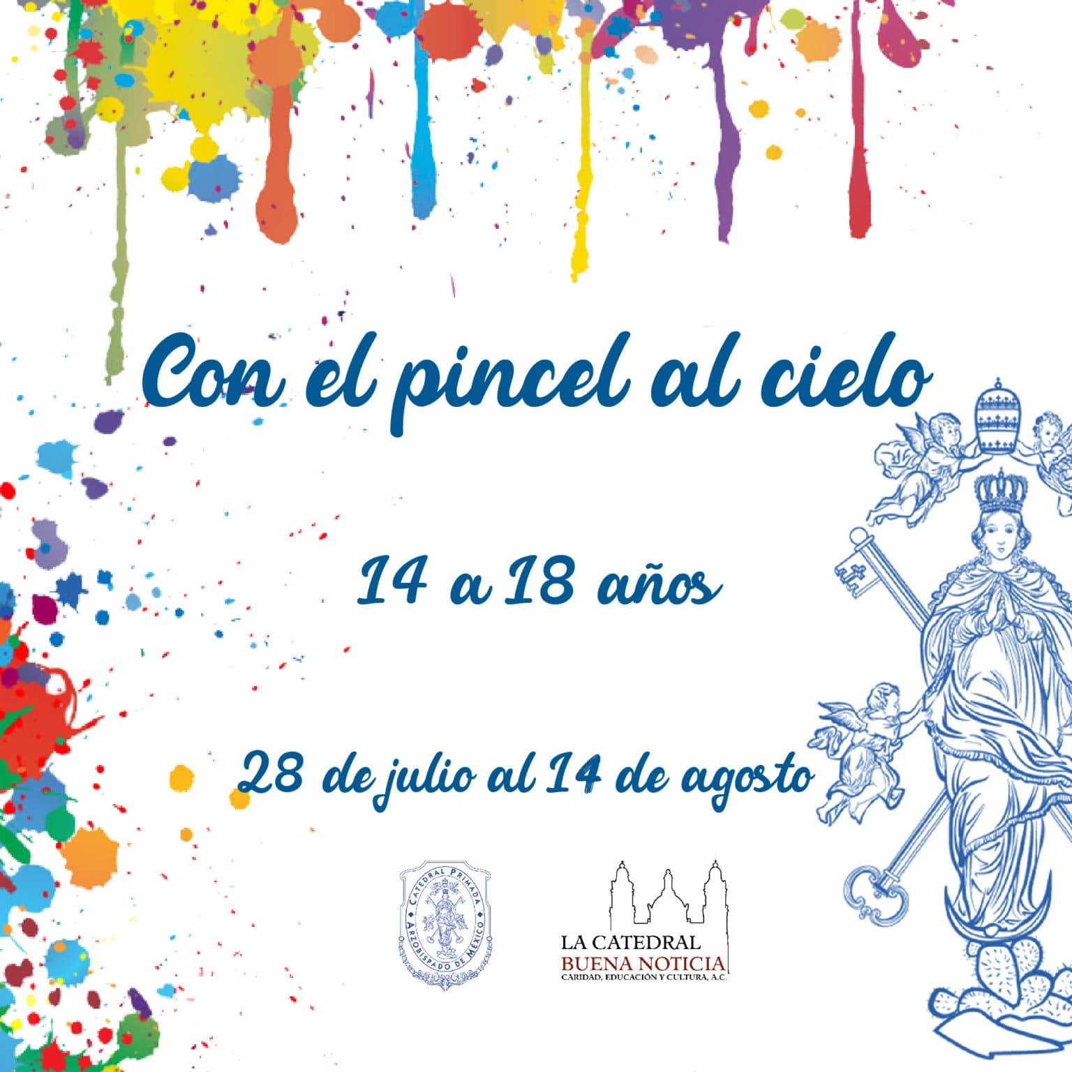 Participa en el concurso de dibujo convocado por la Catedral Metropolitana.