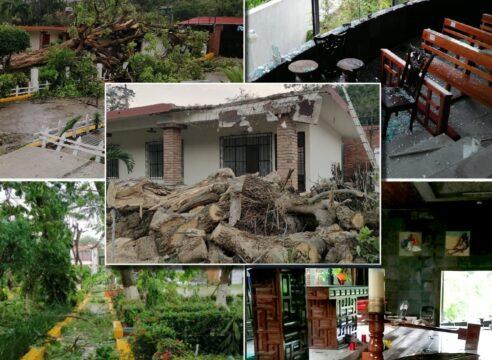 Dos 'huracanes' embisten a la Diócesis de Papantla: Grace y covid