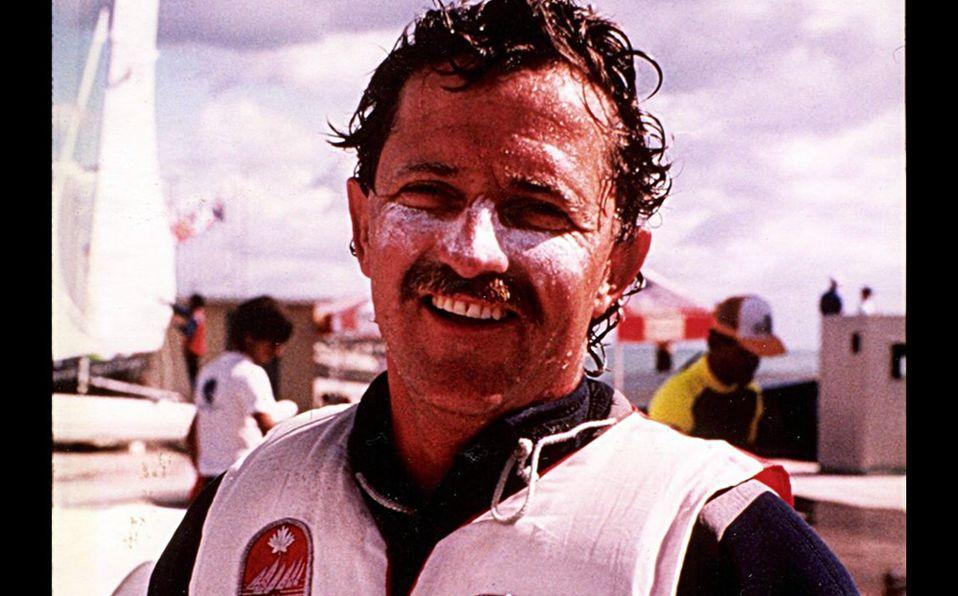 El velerista Lawrence Lemieux quien salvó dos vidas en los Juegos Olímpicos. Foto: Mediotiempo.com
