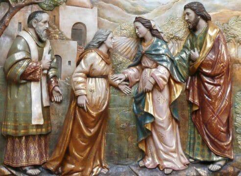 ¿Por qué en la fiesta de la Asunción se lee la visita de la Virgen a Isabel?