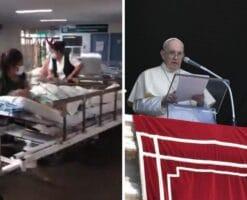 """""""Estoy cerca"""", dice el Papa a las víctimas de inundaciones en México"""