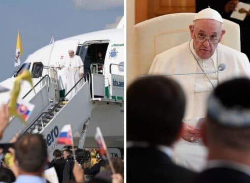 El Papa Francisco en Eslovaquia: Los cristianos necesitan unirse